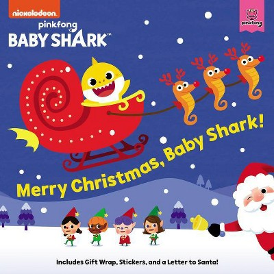 Merry Christmas, Baby Shark! -  (Baby Shark) by Pinkfong (Paperback)