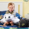 Universal How To Train Your Dragon Light Fury Pillow - Pillow Pets - image 3 of 4