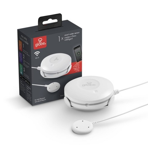 Smart White Wi-Fi Enabled Battery Operated Water Leak Sensor - image 1 of 4