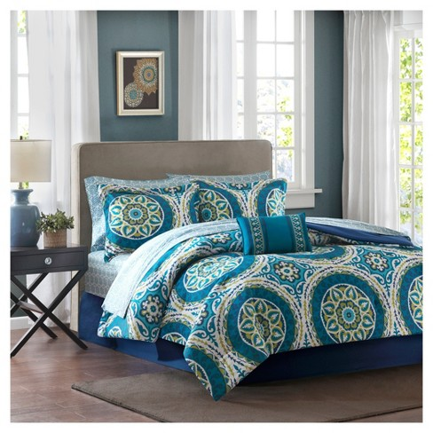 Nepal Medallion Complete Multiple Piece Comforter Set - image 1 of 7