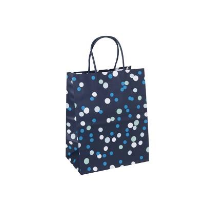Dot Gift Bag Navy