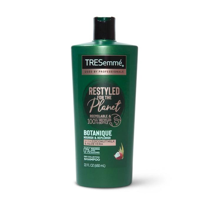 TRESemm Botanique Shampoo Nourish & Replenish Coconut & Aloe Vera - 22 Fl Oz : Target