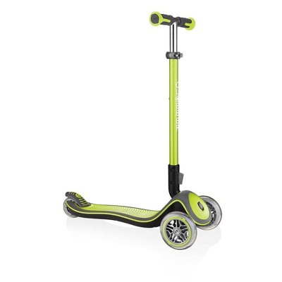 Globber Elite Deluxe Kick Scooter   Lime Green by Globber