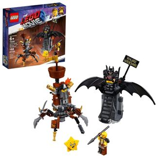 THE LEGO MOVIE 2 Battle-Ready Batman and MetalBeard 70836