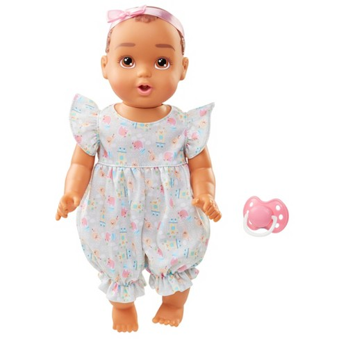 """Perfectly Cute Giggle Fun Baby - 14"""" Baby Girl Doll - Brunette Hair - image 1 of 4"""
