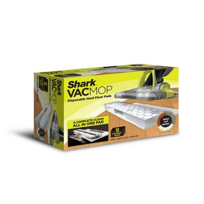 Shark VACMOP Disposal Hard Floor Vacuum and Mop Pad Refills - 10ct