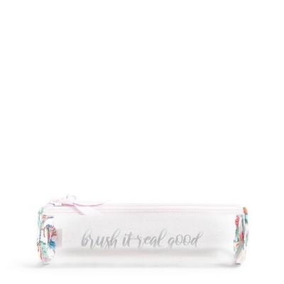 Vera Bradley Women's  Clear Toothbrush Case