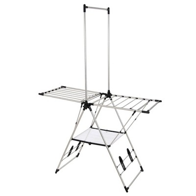 Greenway L Stainless Steel Indoor/Outdoor Drying Center with Mesh Shelf