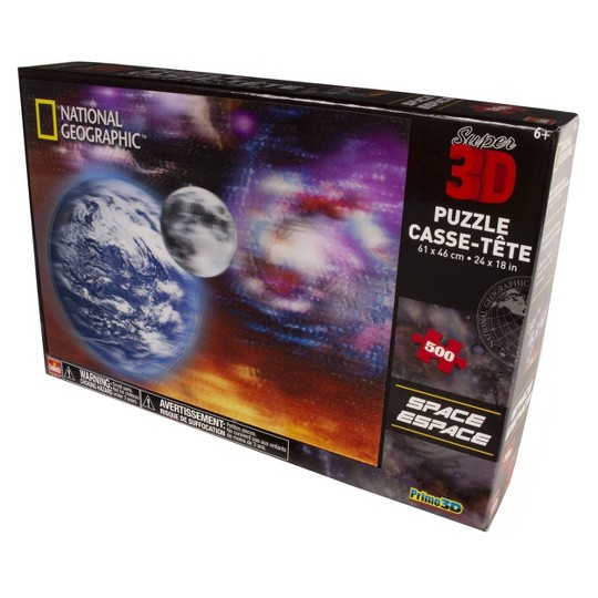 Goliath National Geographic Space 3D Puzzle 500pc image number null