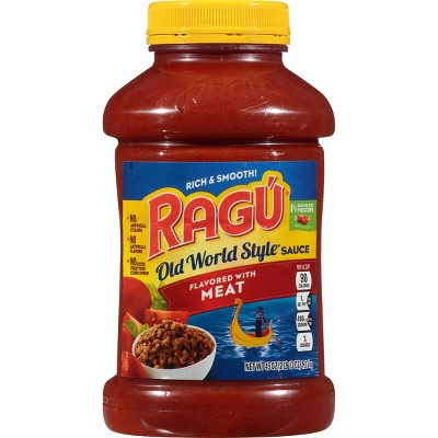 Ragu Old World Style Traditional Meat Pasta Sauce - 45oz