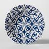 Plastic Geometric Cereal Bowl 25oz Blue/White - Threshold™ - image 2 of 2
