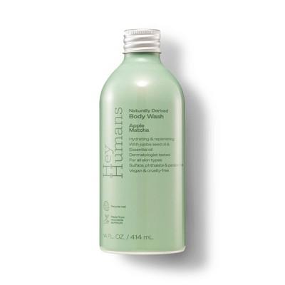 Hey Humans Body Wash Apple Matcha - 14 fl oz