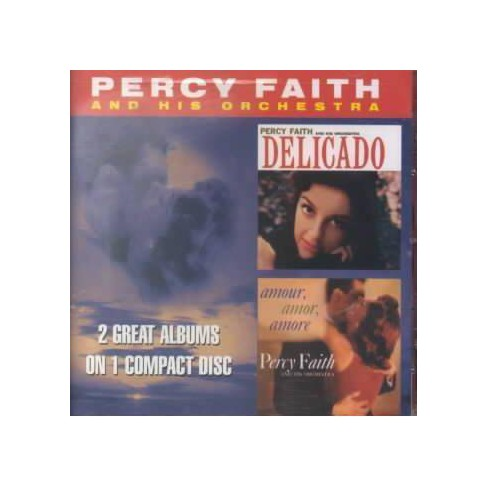 Percy Faith - Delicado/Amour Amor Amore (CD) - image 1 of 1
