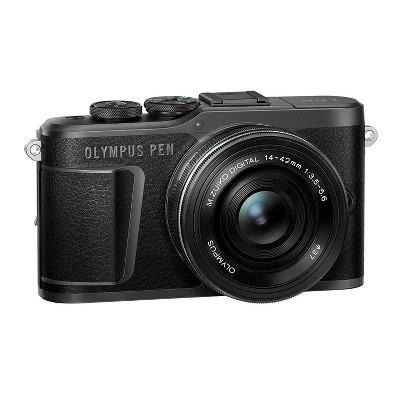 Olympus PEN E-PL10 Mirrorless Digital Camera Body with 14-42mm Lens (Black)