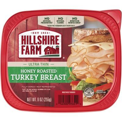 Hillshire Farms Ultra Thin Honey Roasted Turkey Breast - 9oz