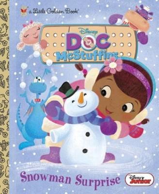 Snowman Surprise ( Little Golden Books) (Hardcover) by Andrea Posner-Sanchez
