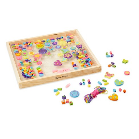 281ed78d77bc Melissa & Doug® Bead Bouquet Deluxe Wooden Bead Set With 220+ Beads for  Jewelry-Making