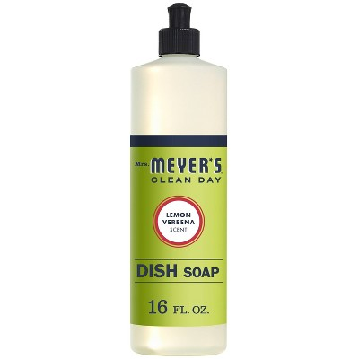 Mrs. Meyer's Clean Day Liquid Dish Soap Lemon Verbena - 16oz Bottle
