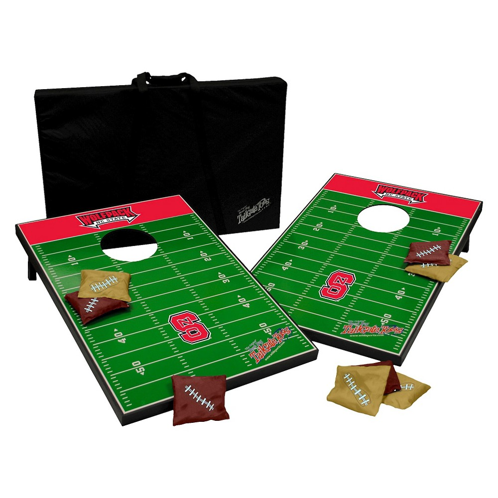 NC State Wolfpack Wild Sports College Tailgate Toss - 2 x 3 ft.