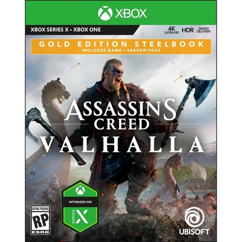 Assassin S Creed Valhalla Gold Edition Steelbook Xbox One Target