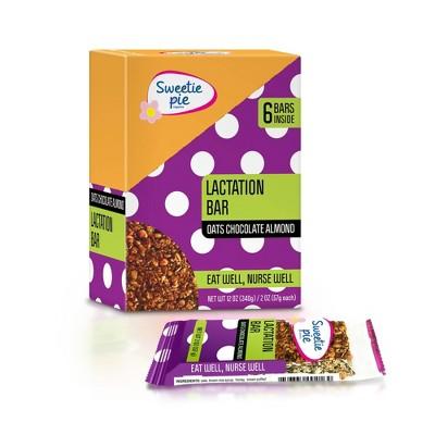 Sweetie Pie Organics Oats & Chocolate Lactation Bar - 6pk