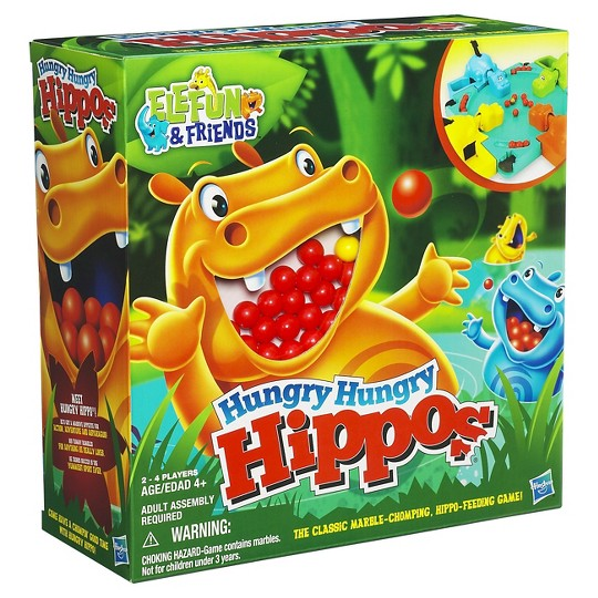 Hungry Hungry Hippos Game image number null