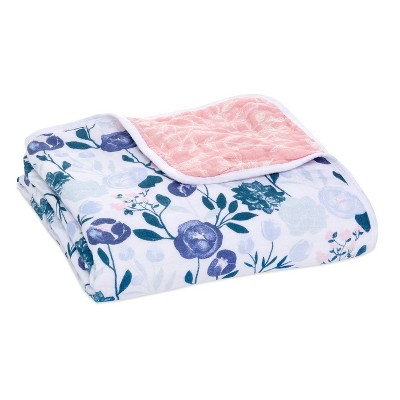 aden + anais Muslin Blanket Flowers Bloom English Garden