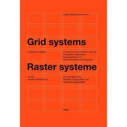 Grid Systems in Graphic Design - 6 Edition by  Josef Muller-Brockmann (Hardcover)