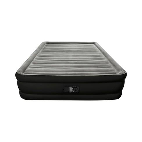 double high queen air mattress with built in pump embark target
