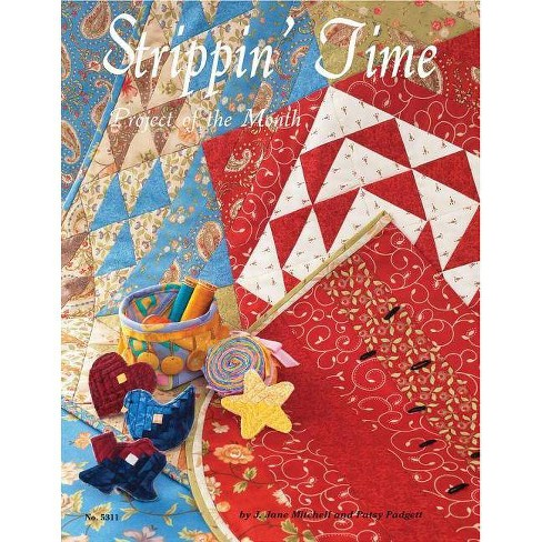 Strippin' Time - by  J Jane Mitchell & Patsy Padgett (Paperback) - image 1 of 1