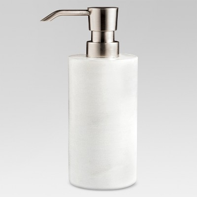 Marble Soap/Lotion Dispenser White - Project 62™