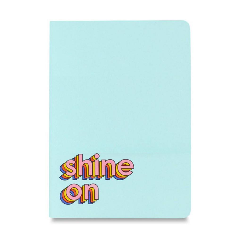 Image of Lined Journal Shine On Saddle Stitch - Ashley Mary