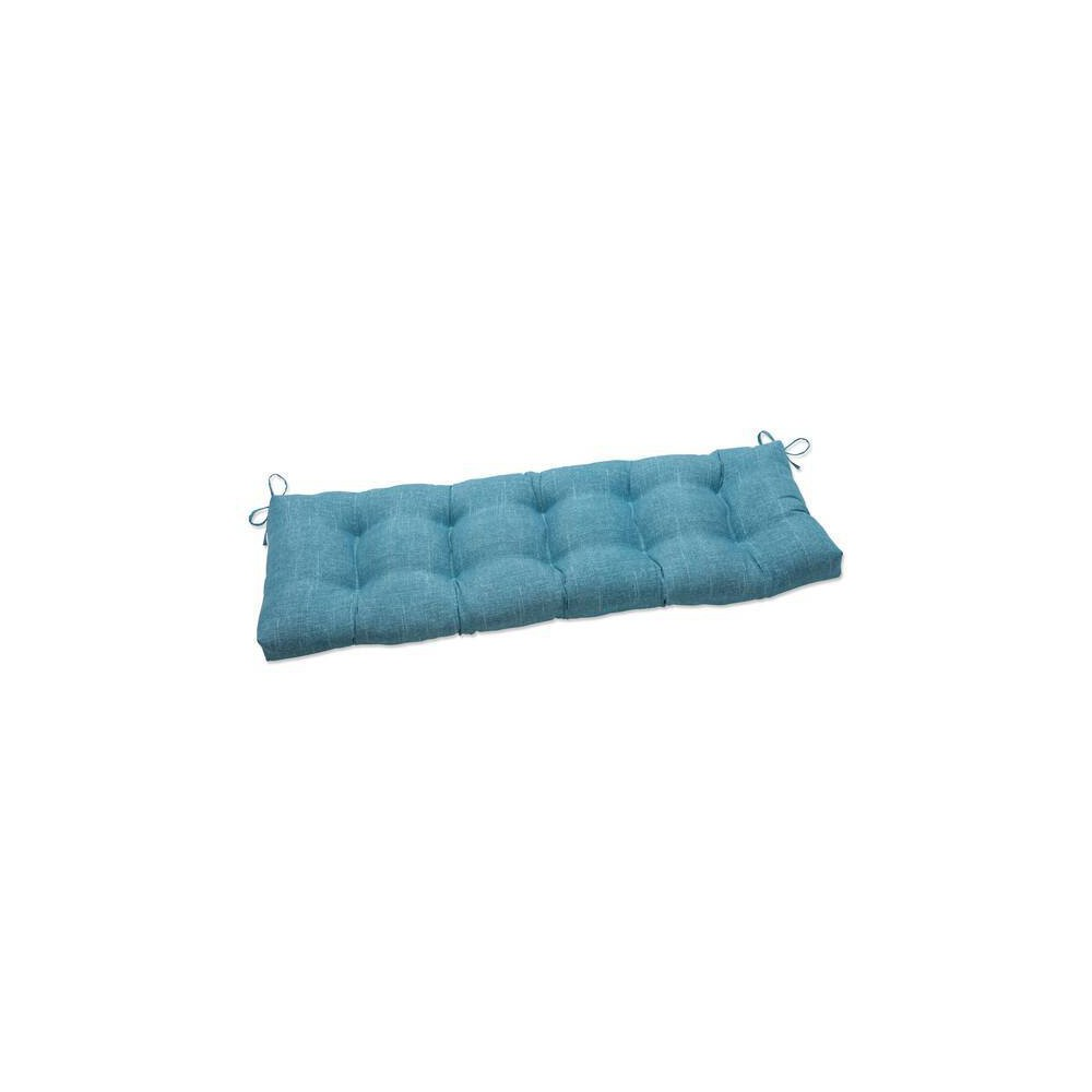56 34 X 18 34 Outdoor Indoor Tufted Bench Swing Cushion Tory Caribe Green Pillow Perfect