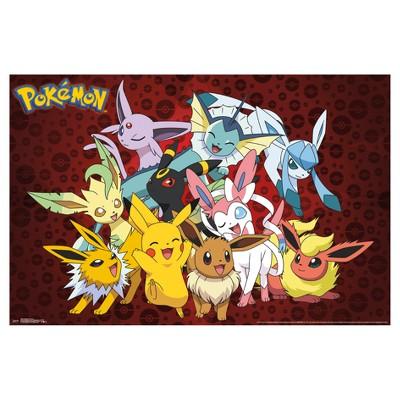 Pokemon Favorites Poster 34x22 - Trends International