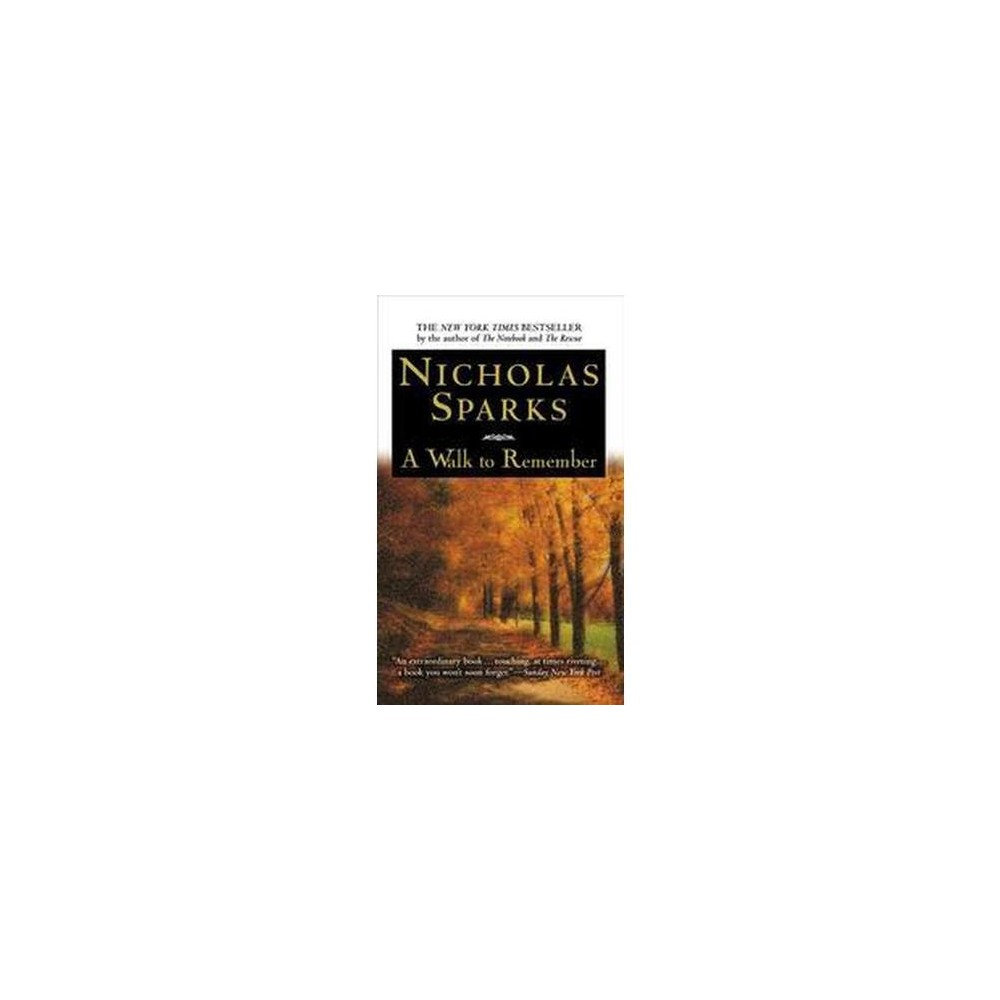 Walk to Remember (Large Print) (Paperback) (Nicholas Sparks)
