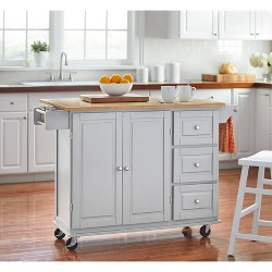 Sundance Kitchen Cart - Gray - Buylateral