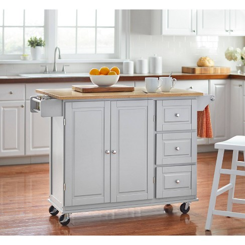 Sundance Kitchen Cart - Gray - Buylateral - image 1 of 4