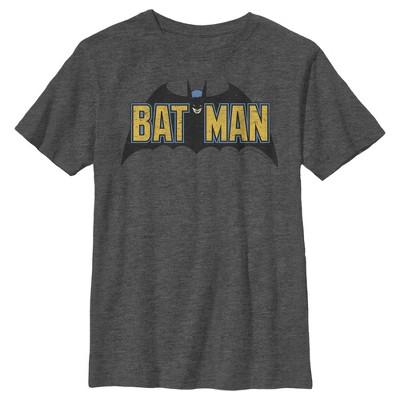 Boy's Batman Caped Crusader Logo T-Shirt