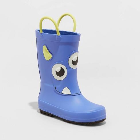 Toddler Boys' Bruce Boots - Cat & Jack™ Blue - image 1 of 3