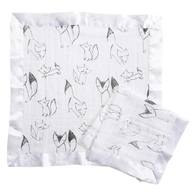 Aden® by Aden + Anais® Security Blankets - Trotting Fox - Gray