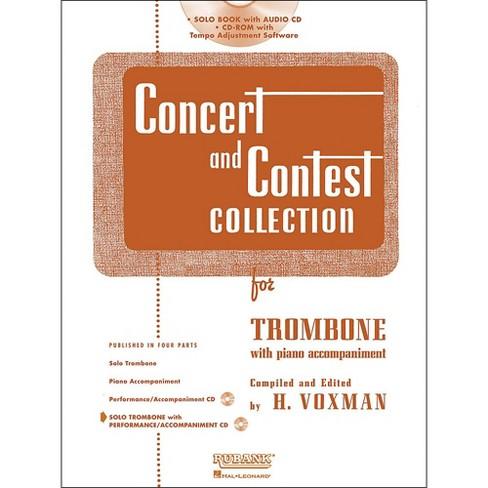 Hal Leonard Rubank Concert & Contest Collection Trombone Book/Online Audio - image 1 of 1