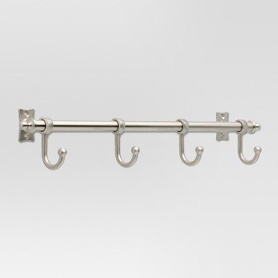Essick Hook Rack - Satin Nickel - Threshold™