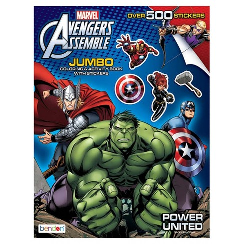 Bendon Avengers® Jumbo Coloring & Activity Book With Stickers - image 1 of 1