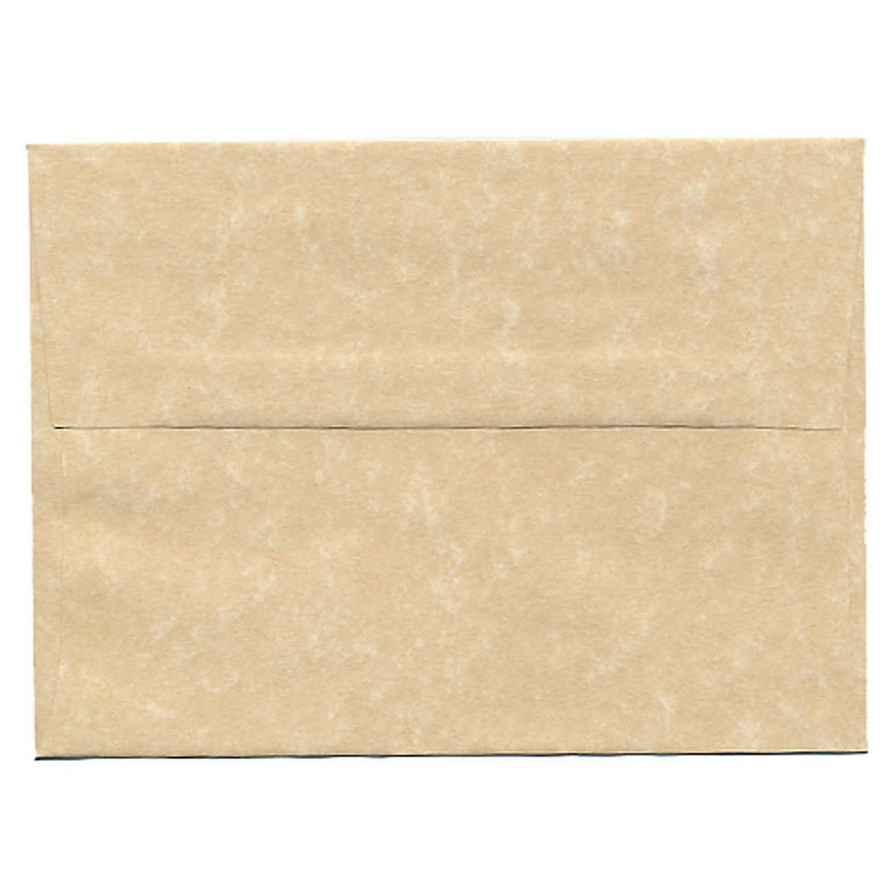 Jam Paper Envelopes A6 50ct Parchment - Brown