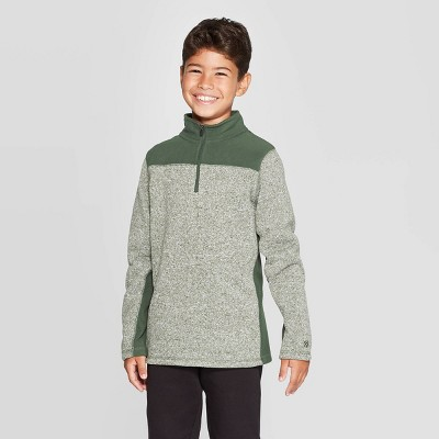 Boys' Fleece 1/4 Zip Sweater   C9 Champion® by C9 Champion