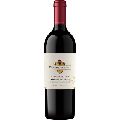 Kendall-Jackson Vintner's Reserve Cabernet Sauvignon Red Wine - 750ml Bottle