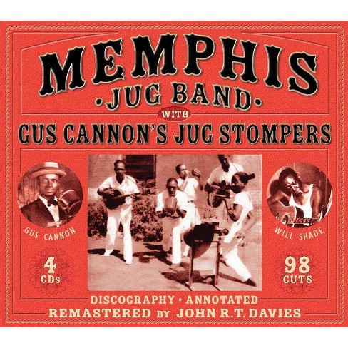 Memphis Jug Band - Memphis Jug Band & Gus Cannon's Jug Stompers (CD) - image 1 of 1