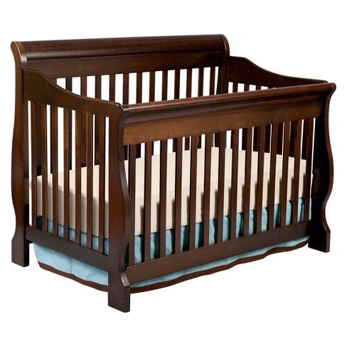 Delta Children Canton 4-in-1 Crib - Espresso Cherry - image 1 of 4