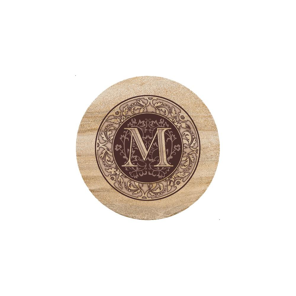 Thirstystone Monogram M Trivet