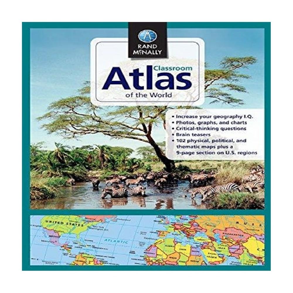 Classroom Atlas of the World: Crar by Rand McNally